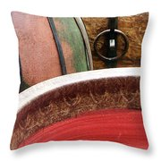 Pottery Abstract Throw Pillow