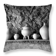 Pottery Throw Pillow