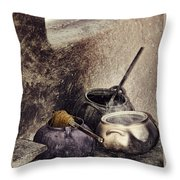 Pottery Of The South Throw Pillow