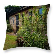 Pottery Store Garden Throw Pillow