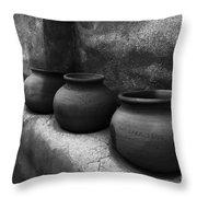 Pottery Tumacacori Arizona Throw Pillow