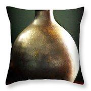 Pottery Vase Throw Pillow