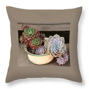 Potty For Plants Throw Pillow