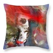 Pour Tout Comprendre, Il Suffit De Considerer Le Ciel Throw Pillow