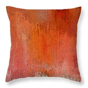 Pouring Down Pink Throw Pillow
