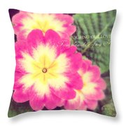 Pouring Out Love Throw Pillow