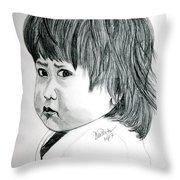 Pouty Throw Pillow