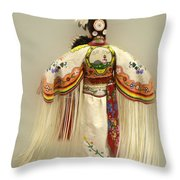 Pow Wow Traditional Dancer 3 Throw Pillow