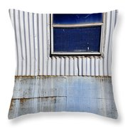 Powder Blu Throw Pillow