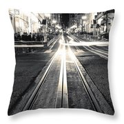 Powell And Market Throw Pillow