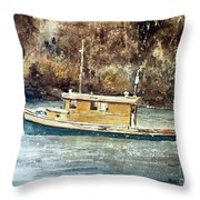 Powell River Canada Throw Pillow