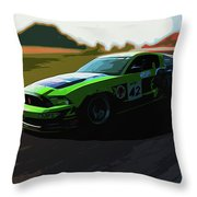 Power And Motors Throw Pillow