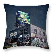 Power Brakes Throw Pillow