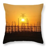 Power Throw Pillow by David Lee Thompson