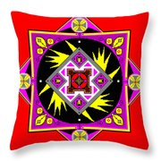 Power Generator Of The Bird People Of Deneb Vii Throw Pillow by Eikoni Images