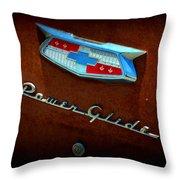 Power Glide Throw Pillow