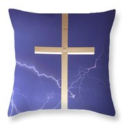God Power Throw Pillow