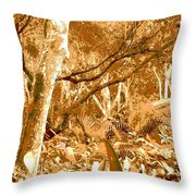 Power Line Throw Pillow by Eikoni Images