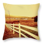 Power Lines 1 Throw Pillow