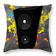 Power Of Music Throw Pillow