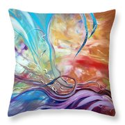 Power Of Now Throw Pillow