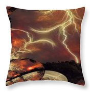 Power Punch Throw Pillow