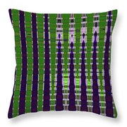 Power Tower And Agave Abstract Throw Pillow