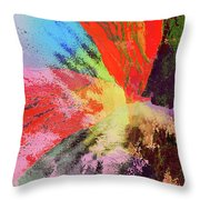 Powerful Forces Throw Pillow
