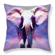 Powerful Journey Into A New Dawn Throw Pillow