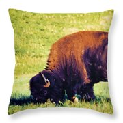 Powerful Leader Throw Pillow by Jan Amiss Photography