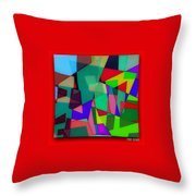 Powerful Types Of Beliefs In Broken Fragments/tonyadamo Throw Pillow
