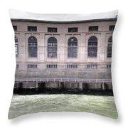 Powerhouse Throw Pillow