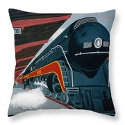 Powhatan Arrow At Portsmouth Throw Pillow