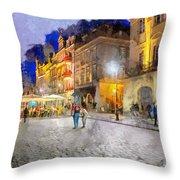 Poznan Throw Pillow