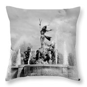 Pr Conquest Throw Pillow