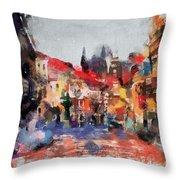 Prague Collection -1 Throw Pillow