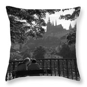 Prague II Throw Pillow