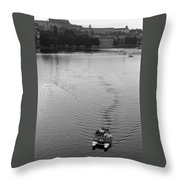 Prague IIi Throw Pillow