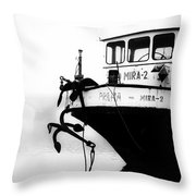 Prague - Mira 2 Throw Pillow