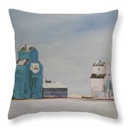 Prairie Giants II Throw Pillow