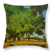 Prairie Throw Pillow by Kevin Lawrence Leveque