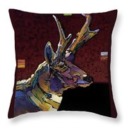 Prairie Prince Throw Pillow