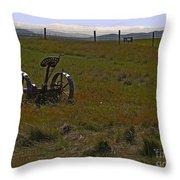Prairie Scene II Throw Pillow