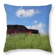 Prairie Schooner Throw Pillow
