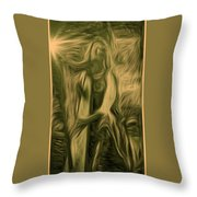 Praise Him With The Harp I Throw Pillow