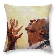 Praise. I Will Praise Him  Throw Pillow