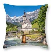 Praise Our Nature Throw Pillow