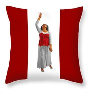 Highest Praise Throw Pillow