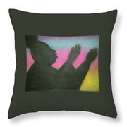 Praise Thy Name Throw Pillow