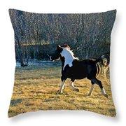 Prance Throw Pillow